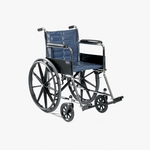 Tracer EX2 18 x 16 Permanent Arms and Fixed Footrests Wheelchair - 23.25''W X 31.88''D X 34''H [TREX28FFP-FS-CARE]