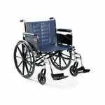 Tracer IV 20 x 18 Full Length Fixed Height Conventional Arms Wheelchair - 36''W X 30''D X 30''H [T420RFAP-FS-CARE]