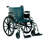 Tracer IV 24 x 18 Desk Length Fixed Height Conventional Arms Wheelchair - 29''W X 30''D X 36''H [T424RDAP-FS-CARE]