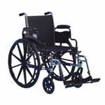 Tracer SX5 20 x 16 Full Arms Wheelchair - 22.5''W X 34''D [TRSX50FBFP-FS-CARE]
