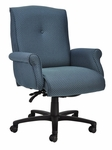 Traditional 300 Series Button Medium Back Single Shift Swivel Tilt Chair [TB201-E21-FS-SEA]