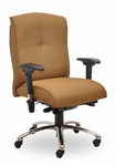 Traditional 300 Series Button Medium Back Single Shift Quick Set Back Height Task Chair [TB211-Q22-FS-SEA]