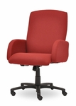 Traditional 300 Series Plain Medium Back Single Shift Swivel Tilt Chair [TP201-E21-FS-SEA]