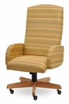 Traditional 300 Series Plain High Back Single Shift Swivel Tilt Chair [TP200-E21-FS-SEA]