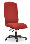 Traditional 300 Series Plain High Back Single Shift Quick Set Back Height Task Chair [TP210-Q22-FS-SEA]