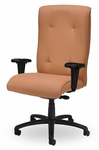 Traditional 400 Series Tufted High Back Multiple Shift Quick Set Back Height Task Chair [TT310-Q32-FS-SEA]