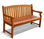 Traditional Outdoor Wood Garden Bench [V275-FS-VIF]