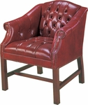 Quick Ship Traditional Series Tufted Guest Chair [4075-FS-HPF]