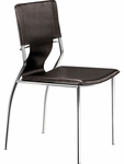 Trafico Dining Chair in Espresso [404133-FS-ZUO]