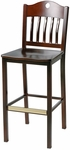 Transitional Schoolhouse Barstool [982-30-MTS]
