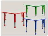 Trapezoid Plastic Activity Tables