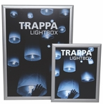 Trappa Light Box 01 with Silver Frame [LED-SNAP-01-FS-OR]