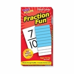 Trend Enterprises Fraction Fun Flash Cards - 96/Box [TEP53109-FS-SP]