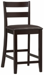 Triena Collection 24''H Soho Counter Stool [01866ESP-01-KD-U-FS-LIN]