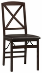 Triena X Back Folding Chair - Set Of 2 [01826ESP-02-AS-U-FS-LIN]