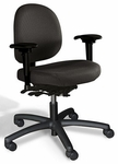 Triton Medium Back Desk Height Chair with 350 lb. Capacity - 4 Way Control [TRMD4-FS-CRA]