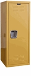 Trophy Yellow Kids Standard Locker Unassembled - 15''W x 15''D x 48''H [HKL151548-1TY-HAL]