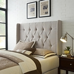 Tufted Panel Headboard w/ Wings - King/California King [DS-8634-270-FS-PUL]