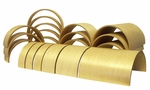 Birch 20 Piece Tunnels and Arches Building Blocks Set - Four Different Widths [ELR-0333-ECR]