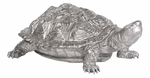 Turtle Figurine Textured Pewter [12151-FS-HEC]