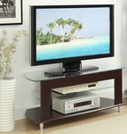 Large TV Entertainment Stand - Cherry [64603-FS-DCON]