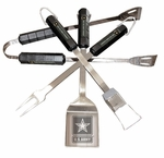U.S. Army 4 Pc Bbq Set [41301-FS-BSI]