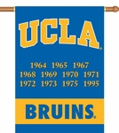 UCLA Bruins Champ Years 2-Sided 28'' X 40'' Banner with Pole Sleeve [96253-FS-BSI]