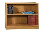 Universal 2 Shelf 30'' Bookcase in Snow Maple Finish [WL12449-03-FS-BHF]