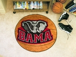 University of Alabama Basketball Mat 27'' Diameter - Mascot Design [3760-FS-FAN]