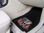 University of Alabama Carpeted Car Mat [5077-FS-FAN]