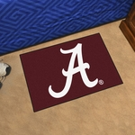 University of Alabama Crimson 'A' Starter Mat 19'' x 30'' [8301-FS-FAN]