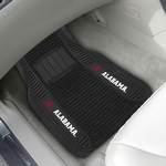 University of Alabama Deluxe Car Mat 2 Pc 20'' x 27'' [13491-FS-FAN]