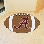 University of Alabama Team Logo Football Mat 22'' x 35'' [8305-FS-FAN]