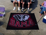 University of Alabama Tailgater Rug 60'' x 72'' - Mascot Design [3758-FS-FAN]