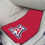 University of Arizona Carpet Car Mat 2 Pc 18'' x 27'' [5642-FS-FAN]