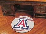 University of Arizona Baseball Mat 27'' Diameter [3648-FS-FAN]