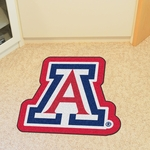University of Arizona Mascot Mat Approx. 36'' x 36'' [8311-FS-FAN]