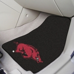 University of Arkansas Carpet Car Mat 2 Pc 18'' x 27'' [5420-FS-FAN]