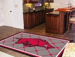 University of Arkansas Rug 5' x 8' [6616-FS-FAN]