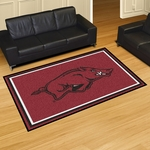 University of Arkansas 5' x 8' Rug [6616-FS-FAN]