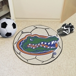 University of Florida Soccer Ball Mat 27'' Diameter - Mascot Design [4154-FS-FAN]