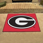 University of Georgia All-star Mat 34'' x 45'' - Red [4992-FS-FAN]