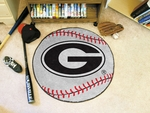 University of Georgia Baseball Mat 27'' diameter [3017-FS-FAN]