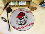 University of Georgia Baseball Mat - Mascot Design [4953-FS-FAN]