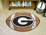 University of Georgia Football Mat 27'' diameter [3024-FS-FAN]