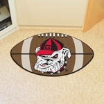University of Georgia Team Mascot Football Mat 22'' x 35'' [4951-FS-FAN]