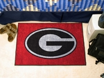 University of Georgia G Logo Starter Rug,19'' x 30'' [4991-FS-FAN]