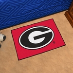 University of Georgia G Logo Starter Mat 19'' x 30'' [4991-FS-FAN]