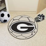 University of Georgia Soccer Ball Mat 27'' Diameter [4990-FS-FAN]