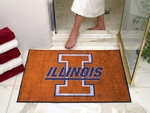 University of Illinois All-Star Rugs 34'' x 45'' [1961-FS-FAN]